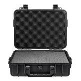 Étui de transport rigide étanche sac de boîte de rangement caméra photographie avec éponge 180 * 120 * 50mm
