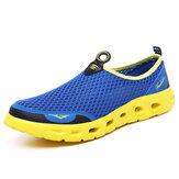 TENGOO Masculino Sandálias Outdoor Respirável Praia Sapatos Leve de Secagem Rápida Sapatos de Vadear Esportes Aquáticos Caminhadas Tênis Campismo Sapatos Sandálias de Verão