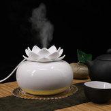 Lotus Ceramic Air Humidifier Purifier Diffuser Aroma Diffuser USB Powered Humidifier