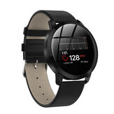 Bakeey CF18 Metal Body Heart Rate Blood Pressure Monitor Female Physiological Track Smart Watch