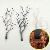 Mini Tree Branch Model Military Scenario Train Sand Table DIY Scenery Materials Decorations