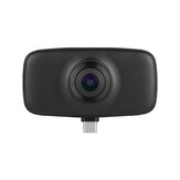 KanDao QooCam Fun 360° 4K Action Camera with Wide Angle Fish-Eyes Lens Plug Play Camera for USB-C Type-C Android Smartphone Live Vlog Sport Camera
