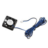 TRONXY® DC 12V 0.12A Blue 4010 Brushless Cooling Fan With 1.2M Cable For 3D Printer Part