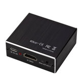 GRWIBEOU HDMI Audio Splitter HDMI naar HDMI + 3.5 Audio + SPDIF 4K HDMI Audio Video Converter