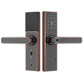 Fingerprint Smart Password Lock Wooden Door Hotel Bluetooth Lock Access Control Office Smart Lock