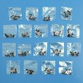18 Values 180pcs Triode Transistor TO-92 Assortment Kit (10pcs / Value)