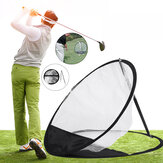 52cm Golf Mat Pitching Chipping Cages Indoor Practice Training Tools Golf Training Net Golf Pitching Practice Training Net