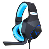 SUTAI G600 Game Headphone USB Surounding Sound Bass Bass Gaming Headset com microfone para computador PC PS4 Gamer