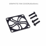 Supera Hobby Rocket 40 * 40mm Rc Motor ESC Cooling Fan Cover + m3 * 14mm Vite RC Car Parts