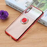 Bakeey Ring Holder Color Plating Hard PC Protective Case For Xiaomi Mi 9 SE