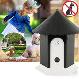 Garden Ultrasonic Outdoor Animal Repeller Dog Bark Control Device for Home Garden Animal Dispeller