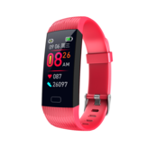 Bakeey Z6 Heart Rate Blood Pressure Monitor Real-time Message Display USB Charging Smart Watch
