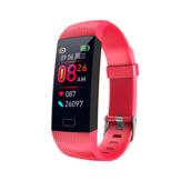 Bakeey Z6心拍数血圧モニターリアルタイムメッセージ表示USB充電スマートウォッチ