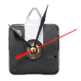 Quartz Silent Clock Mouvement Mécanisme Module Kit DIY Heure Minute Seconde Main Rouge