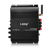 Lepy LP 168 Plus 2.1 Kanal Auto Verstärker 3.55MM Audio Wired Super Bass HiFi Stereo Bass Ausgangsleistung