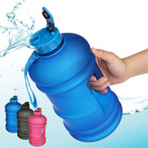 2.2L Outdoor Sports Portable Water Bottle Fitness Gym Dumbbell Drinking Cup Kettle Camping Hiking