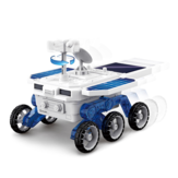 DIY Solar Planet Rover STEM Assembly Four-wheel Drive Electric Science And Educational Model Toys