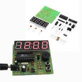 10pcs DIY Multi função quatro bits Digital Relógio MCU Relógio Kit