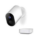 [International Version] IMILAB EC2 1080P Smart Wireless Battery IP Camera Waterproof Outdoor Camera AI Moving Detection Infrared Nighte Version Baby Monitors