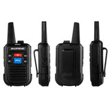 Baofeng C50 2PCS Walkie Talkie 400-480MHz Frequency Range 99 Channel USB Rechargeable Two-Way Radios 1500mAh Li-ion Battery