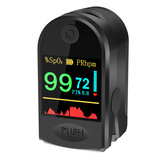 BOXYM P2000 Morsetto da dito HD Ossimetro da polso OLED Ossimetro da dito nel sangue Saturometro Cuore Monitor da pulsossimetro portatile De Oximeter