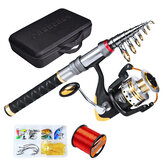 Proberos 1.8M/2.1M/2.5M/2.7M Carbon Long-Range Fishing Rod + Fishing Reel + Fishing Bag + Fishing Line + Bait Box Fishing Tackle Kit Set