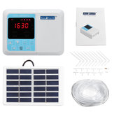Solar Smart Timing Automatic Watering System Intelligent Drip Irrigation Seepage Timer Kit
