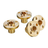 4Pcs 12mm Lead T8 Copper Screw Nut For 3D Printer/Stepper Motor/Lead Screw