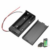 18650 Batterie Box wiederaufladbar Batterie Holder Board mit Schalter für 2x18650 Batterien DIY Kit Case