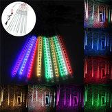 10 tube 50cm LED pluie de météores pluie automne extérieur Noël noël arbre lumière