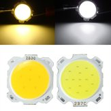 7W DIY LED COB Chip High Power Bead Light Żarówka-biała / Warmwhite DC20-24V