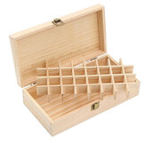 32 Compartments Of Essential Oil Wooden Box Can Be Picked Up