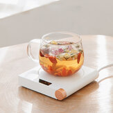 3life S07 55℃ Constant Temperature Cup Heating Mat 20W 5 Gear Digital Display Electric Tea Warmer for Home Office Travel
