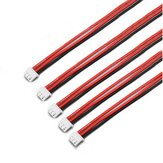 5PCS 2S 3Pin 2.54XH 30cm Lipo Batterie Chargeur Silicone Wire Balance Extension Cable