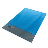 140x200cm Folding Beach Mat Picnic Mat Waterproof Outdoor Camping  Travel Polyester Mat