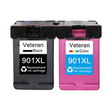 Veteran 901XL Cartridge Compatible for hp 901 xl hp901 Ink Cartridge for Officejet 4500 J4500 J4540 J4550 J4580 J4680 printer