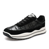 Erkekler Spor Aşağı Bez Kaymaz Soft Tek Günlük Koşu Ayakkabıları