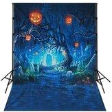 9x6ft 7x5ft 5x3ft F64171 Halloween Pumpkin Lantern Party Theme Photography Background Cloth Studio Photo Backdrop