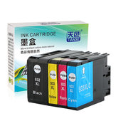 TIANSE 932XL Ink Cartridge For HP 932 XL 933 HP932XL For HP 932XL 933XL HP932 XL For HP Officejet 6100 6600 6700 7110 7610 7612 Printer Ink