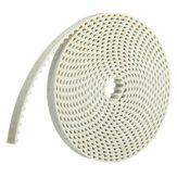 White 5.08mm Pitch 10mm Width Machine Timing Belt 3.3M Length
