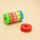Cadeau Jouet Étucatif d'Abacus à Cylindre Magnétique pour Enfant