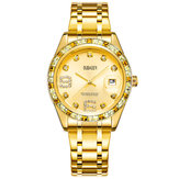 OUBAOER 6093LB Crystal Casual Style Women Wrist Watch