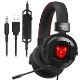 ONIKUMA K3 Casque Gaming Headset filaire à suppression de bruit pour PS4 PC Computer Mac Laptop