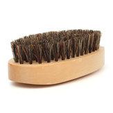 Madera manejar jabalí cerda barba domar bigote cepillo estilo liso peine peine