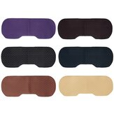 6 Colors Universal Car Rear Linen Seat Covers Kit Breathable Cushion Anti-slip