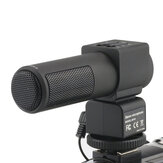 KOMERY Mic-01 Stereo Camera Microfoon Professionele Studio Digitale Video-opname Microfoons voor DSLR Camera DV Vlogging