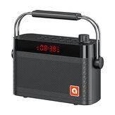 B123 bluetooth 5.0 Luidspreker Karaoke Aangepaste dubbele wekker Meerdere afspeelmodi met FM-functie 360 ° surround stereogeluid 4200 mAh Battry Life