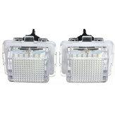2x 18 SMD LED número da matrícula luz para benz w204 W221 W212 W216