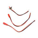 WPL電源スイッチモーターワイヤーV3サウンドシステムDIY1 / 16RCカー車両モデル部品用JSTコネクタ