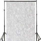 3x5FT 5x7FT Vinyl Silver Star Shining Glitter Photography Background Backdrop Studio Prop